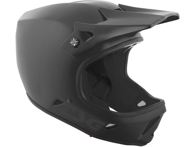 TSG Advance Solid Color Helmet satin black